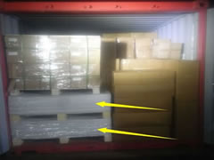 LCL goods container loading