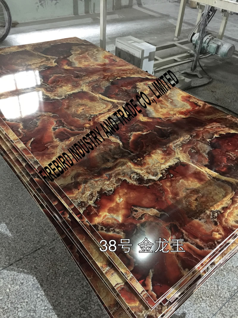 PVC marble panel product color 12